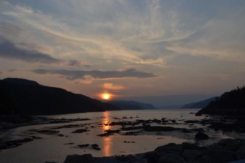 Fjord Saguenay,Québec